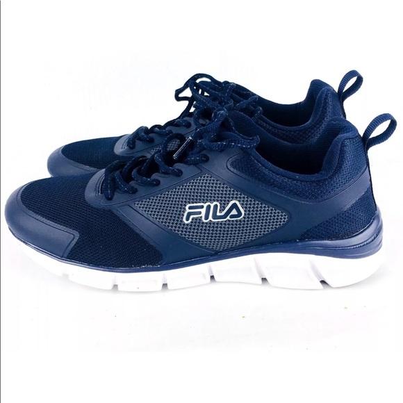 6068861a3387 Fila Other - Fila Memory Steelspirit Foam Shoes SZ 8 Navy Blue